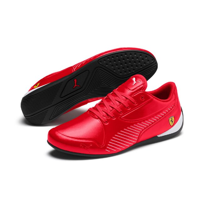 Ferrari SF Drift Cat 7S Ultra men shoes, Color: Red, Material: Synthetic leather