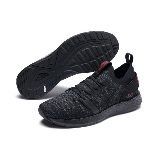 PUMA NRGY Neko Engineer Knit men shoes, Colour: Black, Material: Fabric, The NRGY NEKO ENGINEER KNIT combines comfort, performance and style.NRGY = Mega Comfort and Mega Energy Return. Additional comfort from the NEW PU SOFTFOAM+ Comfort gives you a plush, seamless ride as you transition from heel to toeFully engineered, knitted upper