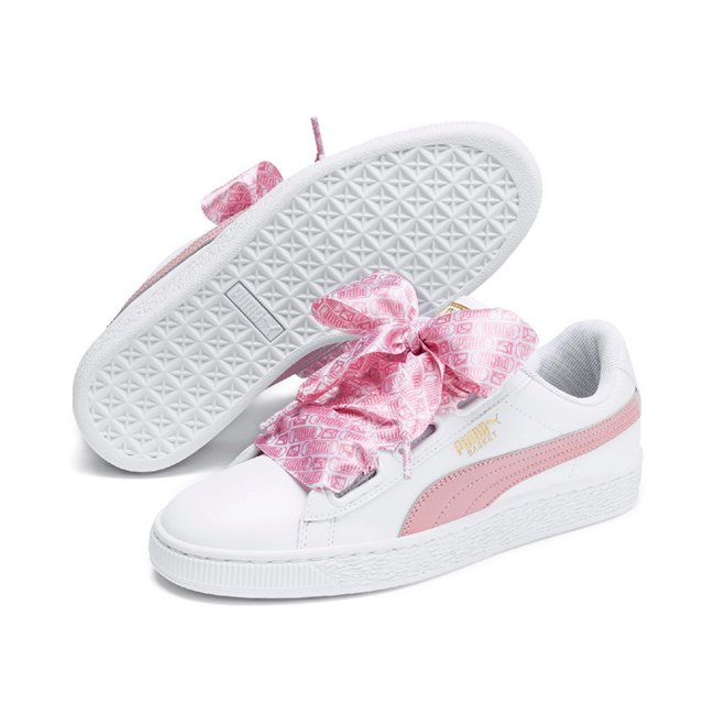 pretty nice 8ce5c 8f40c PUMA Basket Heart Reinvent Wns women shoes