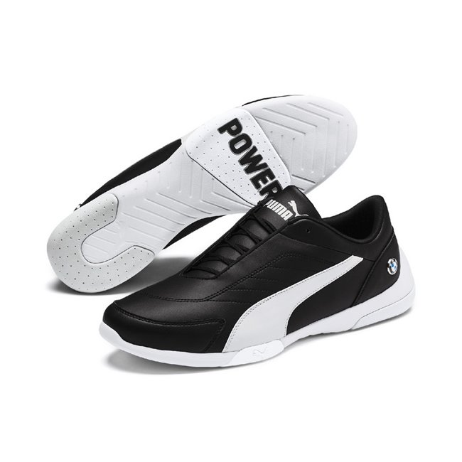 BMW MMS Kart Cat III men shoes, Color: Black, Material: Synthetic leather