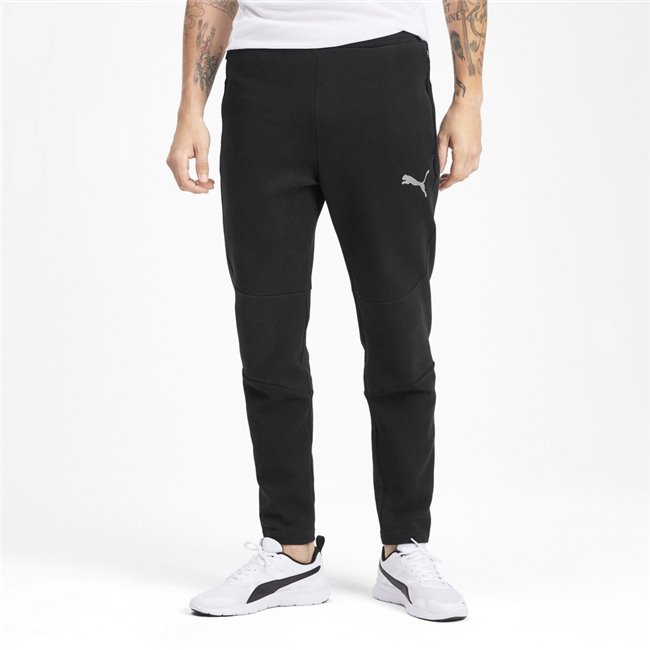 PUMA Evostripe men trousers, Color: Black, Material: cotton, polyester