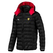 Ferrari SF Eco PackLite winter jacket, Color: Black, Material: Nylon
