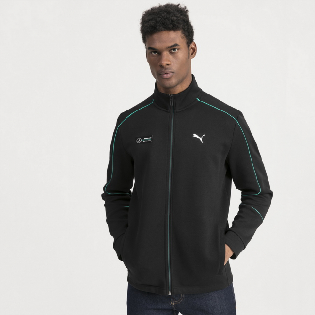 Mercedes MAPM SWEAT men sweatshirt, Color: Black, Material: cotton, polyester