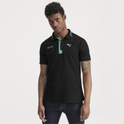 Mercedes MAPM POLO men T-Shirt, Color: Black, Material: cotton, polyester