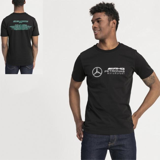 Mercedes MAPM LOGO men T-Shirt, Color: Black, Material: cotton