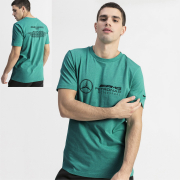 Mercedes MAPM LOGO men T-Shirt, Color: green, Material: cotton
