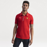 Ferrari SF Polo men T-Shirt, Color: red, Material: cotton, polyester