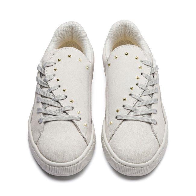 puma basket stud mujer zapatillas