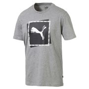 PUMA Cat Brand Graphic Men T-Shirt