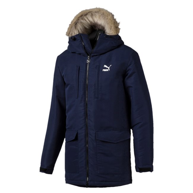 san francisco 1a521 a2b18 PUMA Classics Padded giacca invernale da uomo
