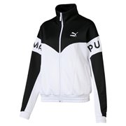 PUMA XTG 94 Track Jacket, Color: white, Material: polyester, cotton
