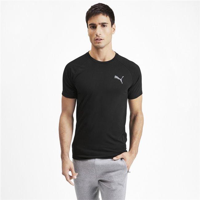 <p>PUMA Evostripe T-Shirt, Color black, Material: 65% polyester 35% viscose</p>