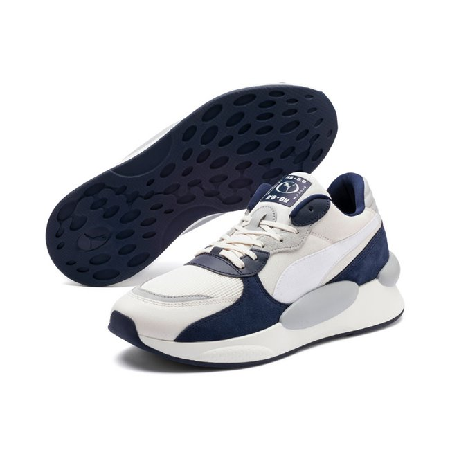 PUMA RS 9.8 SPACE men shoes, Color: white, Material: fabric, synthetic leather
