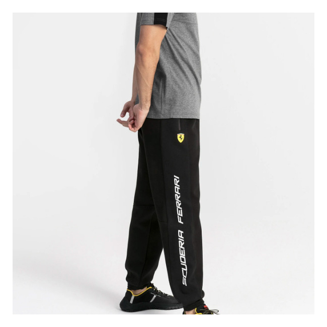 Ferrari SF Sweat men trousers, Color: Black, Material: cotton, polyester