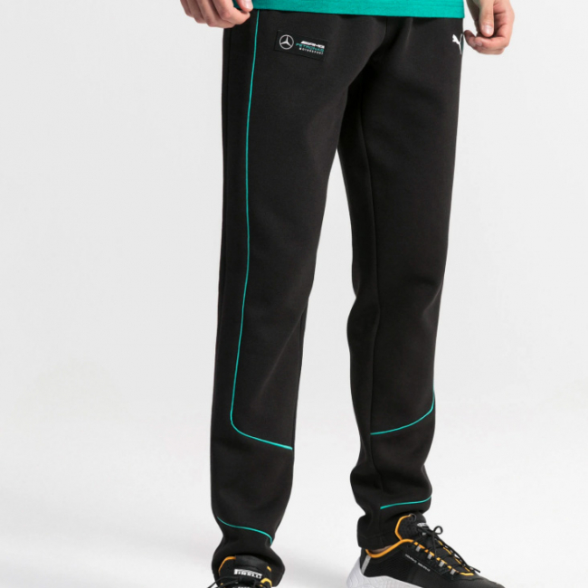 Mercedes MAPM SWEAT men trousers, Color: Black, Material: cotton, polyester