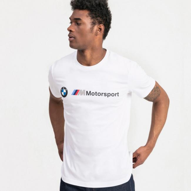 BMW MMS Logo T-shirt, Color: white, Material: N / A