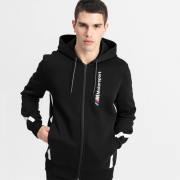 BMW MMS Hooded Sweat men sweatshirt, Color: Black, Material: cotton, polyester