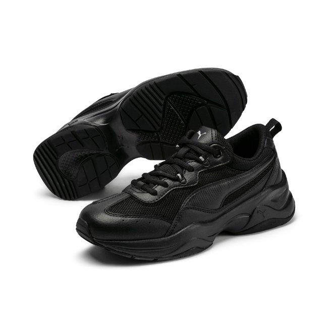 PUMA Cilia women shoes, Color: black, Material: Synthetic leather