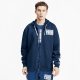 PUMA Rebel Bold FZ FL men hooded sweatshirt