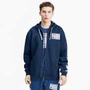 PUMA Rebel Bold FZ FL men hooded sweatshirt