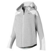 PUMA EVOSTRIPE FZ women sweatshirt with hood