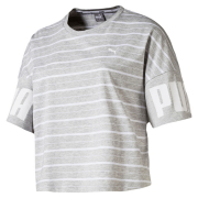 PUMA Rebel Striped Women T-Shirt