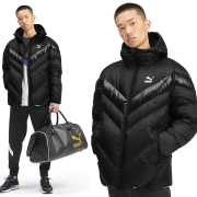 PUMA MCS Shiny Puffer Down mens winter jacket