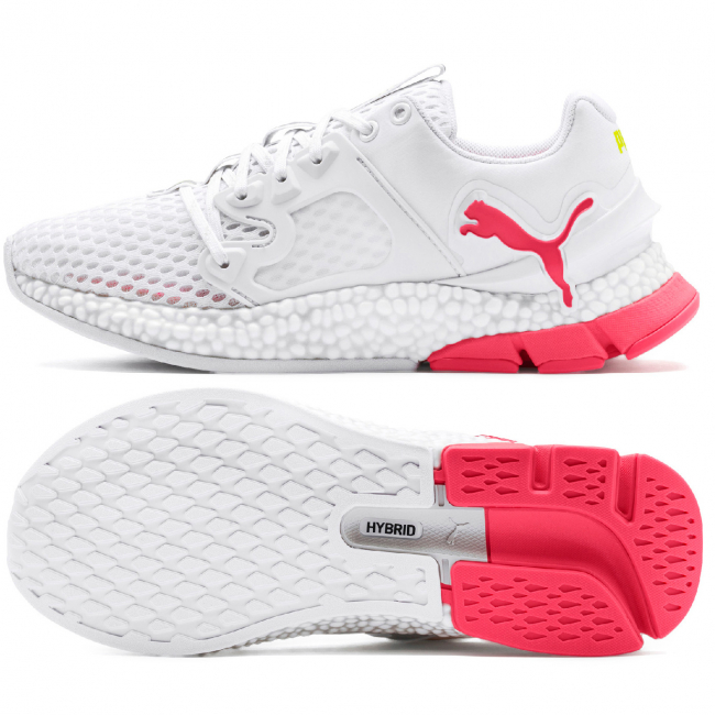 PUMA Hybrid Sky Wns women shoes, Color: white, Material: mesh, synthetic fibers