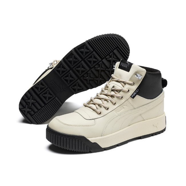 PUMA Tarrenz SB Puretex men ankle boots, Color: light beige. Material: synthetic leather