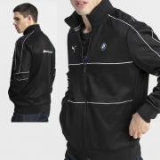 BMW MMS T7 Track jacket, Color: Black, Material: polyester