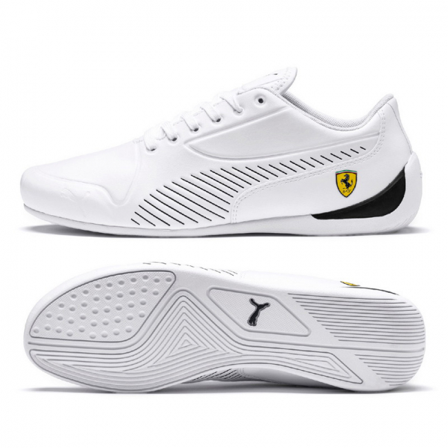 Ferrari SF Drift Cat 7S Ultra men shoes, Color: white, Material: Synthetic fibers