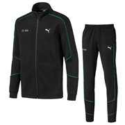Mercedes jacket and pants, Color: black, Material: cotton, polyester