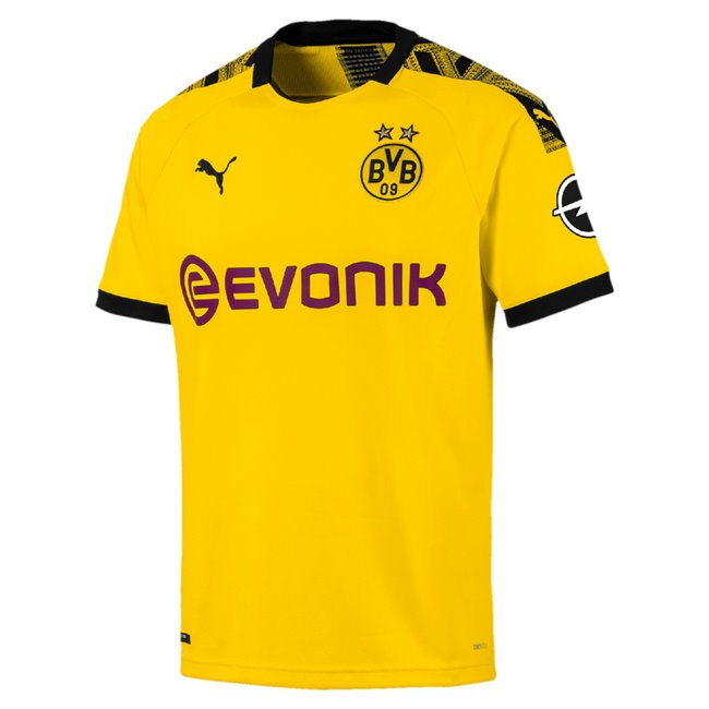Borussia Dortmund Home Shirt Replica T-shirt, Color: yellow Material: 100% polyester