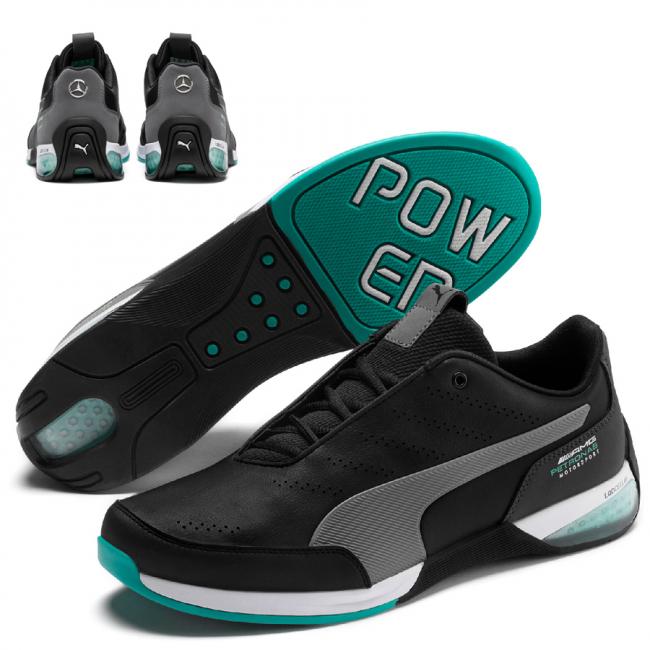 Mercedes MAPM Kart Cat X men shoes, Color: Black, Material: Synthetic leather