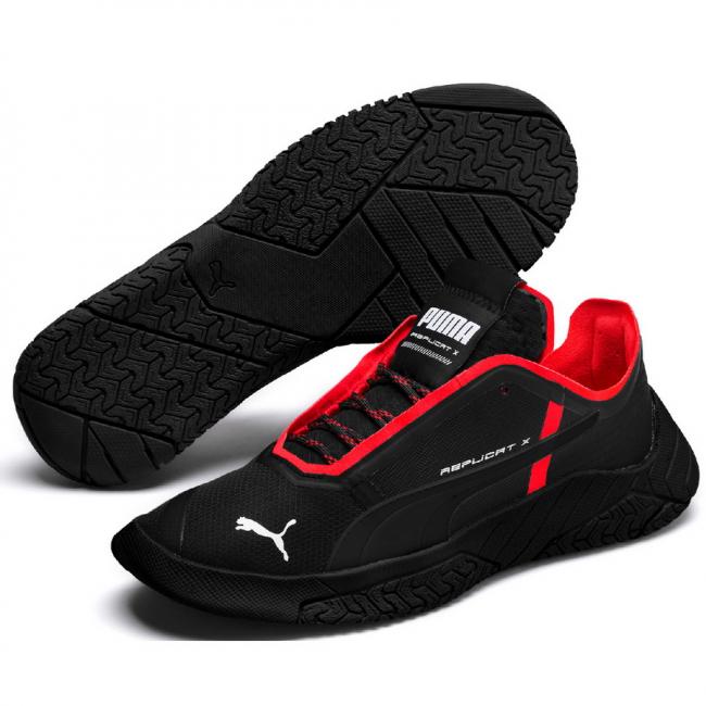 PUMA Replicat-X Circuit men shoes, Color: Black, Material: Synthetic leather
