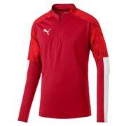 PUMA Cup Training 1 4 Zip Top Sweatshirt