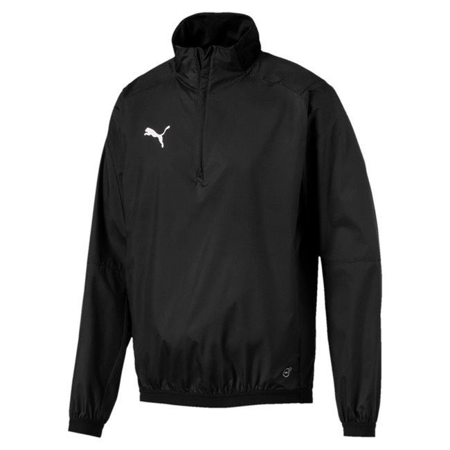 PUMA LIGA Training Windbreaker jacket, Color: black, Material: 100% polyester
