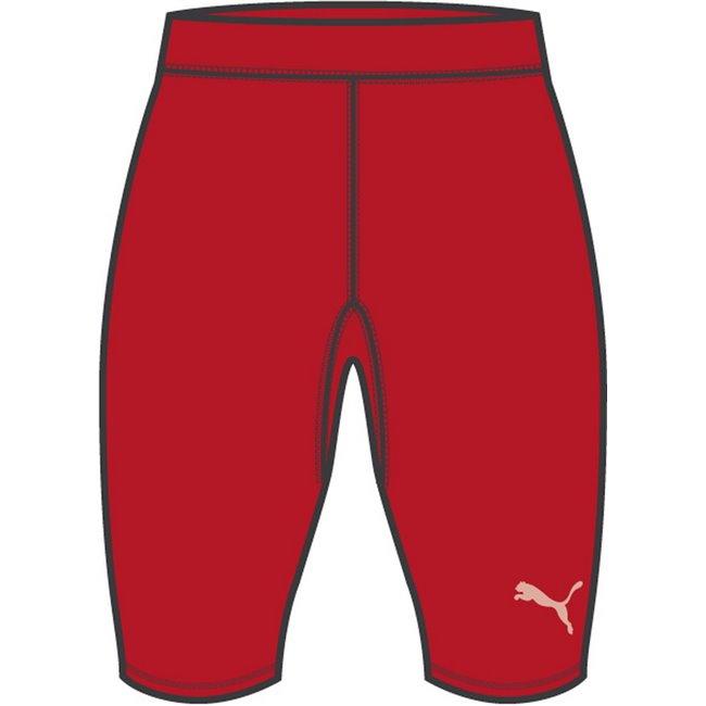 PUMA LIGA Baselayer Short leggings, Color: red, Material: polyester, elastane