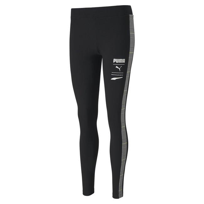 PUMA Recheck Pack leggings, Color: black Material: 95% cotton 5% elastane