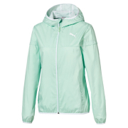 PUMA Essentials Solid Windbreaker jacket, Color: green Material: 100% polyester