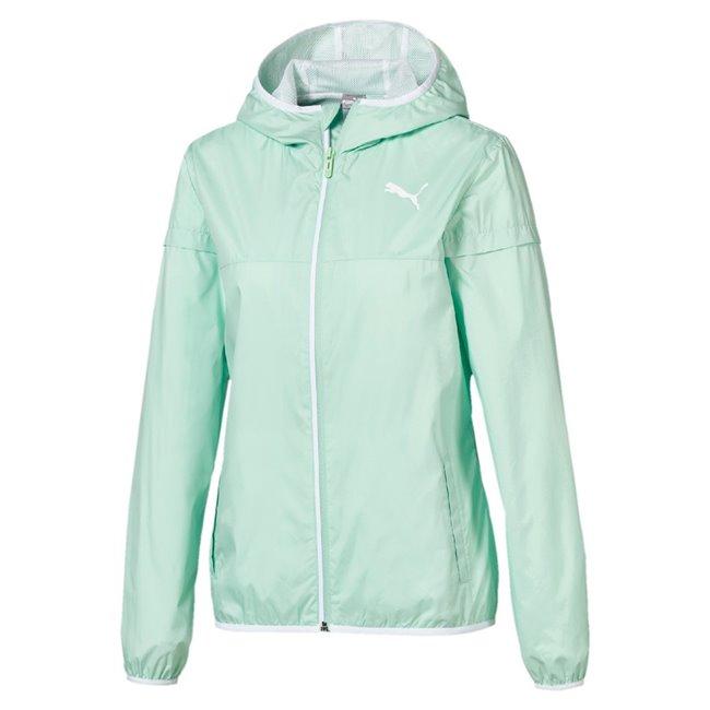 PUMA Essentials Solid Windbreaker jacket, Color: green Material: 100% polyester