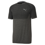 PUMA RTG Evoknit Basic T-shirt, Color: black Material: 72% polyester 28% nylon