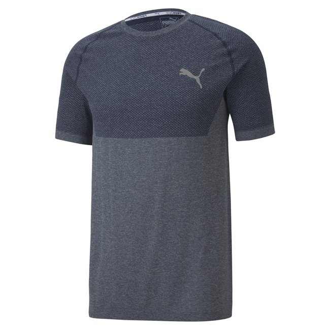 PUMA RTG Evoknit Basic T-shirt, Color: dark blue Material: 72% polyester 28% nylon