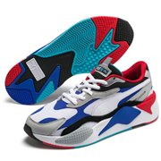 PUMA RS-X PUZZLE shoes, Color: white, Material: Upper: mesh, Midsole: PU, Sole: rubber