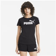 PUMA Amplified T-shirt, Color: black, Material: Cotton