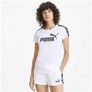 PUMA Amplified T-shirt, Color: white, Material: Cotton