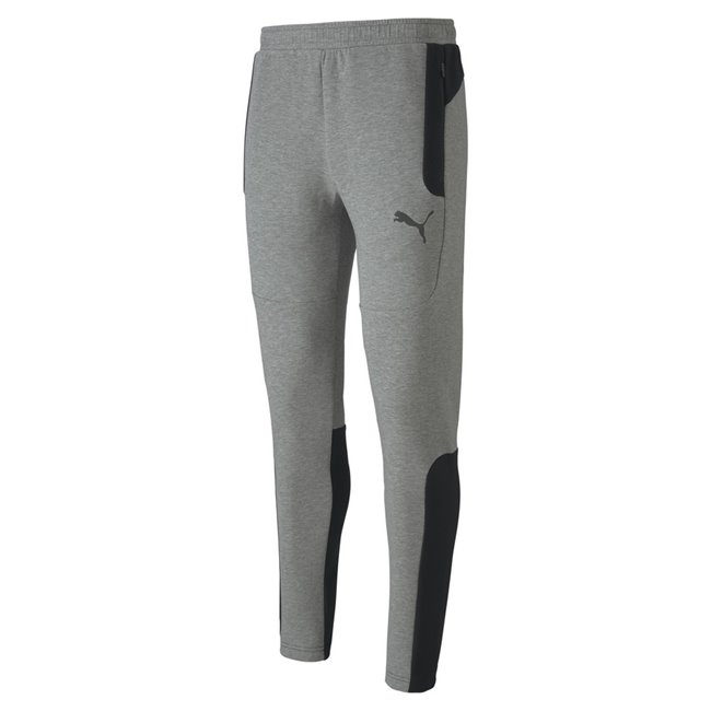 PUMA EVOSTRIPE trousers, Color: gray, Material: cotton, polyester