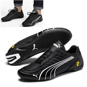 Ferrari SF Future Kart Cat shoes, Color: black, Material: Upper: synthetic fibers, Sole: rubber