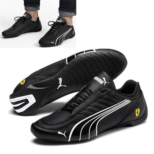 Ferrari SF Future Kart Cat shoes, Color: black, Material: Upper: synthetic fibers, Sole: rubber
