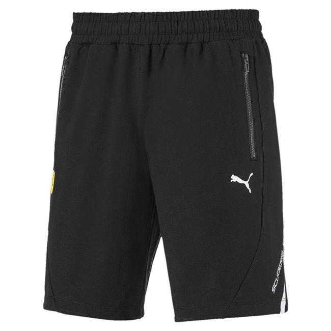 Ferrari SF LW Sweat shorts, Color: black, Material: cotton, polyester